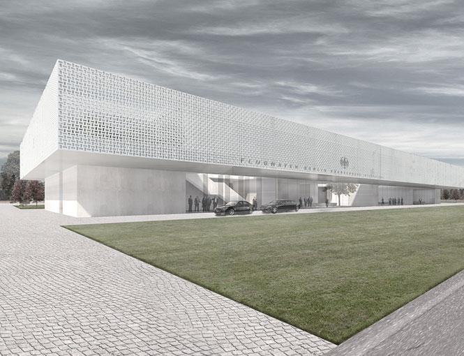 Empfangsgebäude Flughafen BBI Berlin