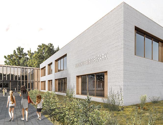 """Grundschule """"Im Rosenpark"""" Werneuchen"""