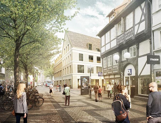 Wohn- & Geschäftshaus Weender Straße Göttingen